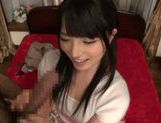 Arousing Ai Uehara enjoys real pleasure in hardcore picture 15
