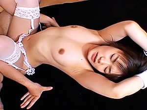 Ruri Anno Lovely Asian Teen In White Gets Fucked Hard