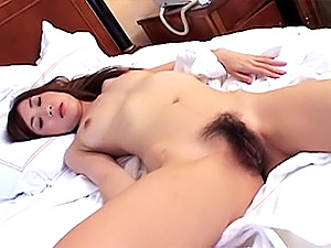 Chinatsu Izawa Naughty Asian babe Has A Hairy Pussy