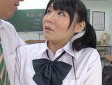 Rumi Kamida amazing horny Japanese schoolgirl picture 13