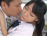 Rumi Kamida amazing horny Japanese schoolgirl picture 14