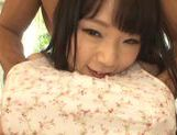 Young and nasty Sunao Sakura gets hard fucked picture 13