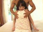 Young and nasty Sunao Sakura gets hard fucked