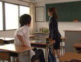 Kinky sex with Nami Hoshino the new female teacher