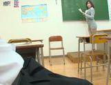 Kanari Tsubaki hot Asian milf exposes amazing ass picture 14