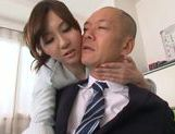 Yui Tatsumi hot Asian milf is a sexy teacher getting position 69 picture 15
