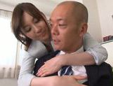 Yui Tatsumi hot Asian milf is a sexy teacher getting position 69
