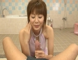 Yuma Asami Lovely Asian model is hot for sex picture 12