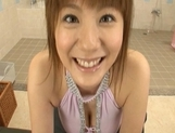 Yuma Asami Lovely Asian model is hot for sex picture 4