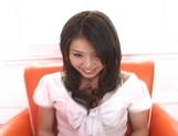 Aya Hirai Asian model has a cute wet pussy