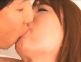 Akiho Yoshizawa Lovely Asian babe gets her hairy pussy spread