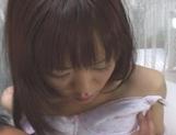 Shoko Yokoy Asian model rubs her wet pussy picture 12