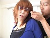 Ryo Hirase Asian milf gets a hot cumshot picture 10