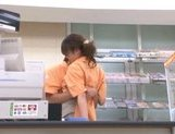 Marimi Natsuzaki Cute Japanese babe likes getting fucked in the supermarket picture 7