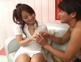 Miina Naughty Asian gal gets a hard fucking picture 13