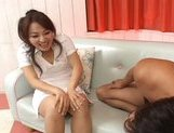Miina Naughty Asian gal gets a hard fucking picture 9