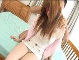 Erika Kurisu Horny Asian babe gets a rear fucking