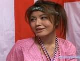 Yuzuru Japanese beauty enjoys lots of hard sex picture 14