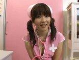 Steaming Asian beauty Akane Ohzora enjoys sticks in her anal