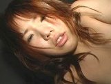 Charming Asian gal Yuka rides thick cock exposing her anal hole
