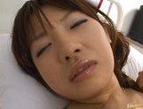 Beautiful Asian nurse Akane Ohzora enjoys hardcore anal fucking picture 14