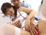 Beautiful Asian nurse Akane Ohzora enjoys hardcore anal fucking picture 8