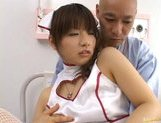 Beautiful Asian nurse Akane Ohzora enjoys hardcore anal fucking picture 9