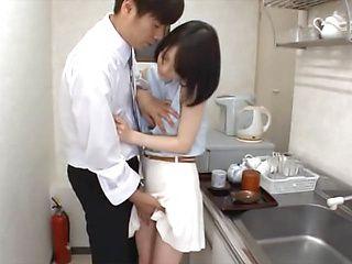 Airi Suzumura naughty milf enjoys giving a blowjob