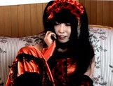 Hot cosplay lover Chika Arimura licks out and fucks her boyfriend