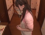 Beautiful Japanese lady Yui Hatano loves food insertion and hot fucking