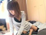 Busty Asian milf Sumire Matsu fucks in doggy-style picture 2