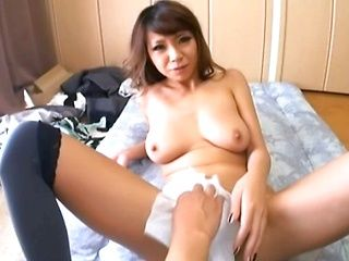 Sumire Matsu hot Asian milf in POV fucking