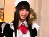 Hikaru Ayuhara is a pretty Japanese schoolgirl picture 3