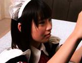 Hikaru Ayuhara is a pretty Japanese schoolgirl picture 5