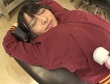 Hot Japanese teen Ai Uehara receives warm stimulation from horny guy picture 12