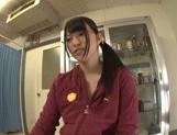 Hot Japanese teen Ai Uehara receives warm stimulation from horny guy