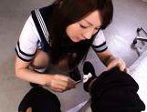 Yui Tatsumi Hot Asian schoolgirl likes sex
