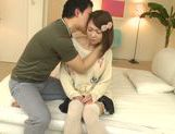 Busty girl Yuka Yamaguchi gets teased and screwed picture 13