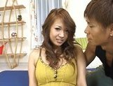 Yuuna Enomoto Busty Asian girl enjoys sex picture 11