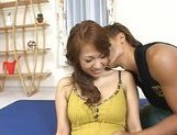 Yuuna Enomoto Busty Asian girl enjoys sex picture 12