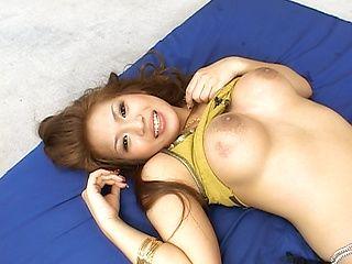 Yuuna Enomoto Busty Asian girl enjoys sex