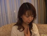 Mature Asian lady gets a cum facial picture 11