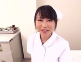 Akane Yoshinaga naughty nurse in pov blowjob action