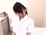 Akane Yoshinaga naughty nurse in pov blowjob action picture 11