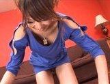 Rukia Mochizuki Asian model gets her pussy spread