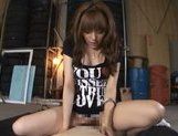 Sweet Japanese girl Rio in wonderful Japanese pov porn action picture 42