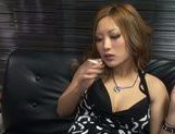 Superb hottie Aika enjoys large cock for sex fun picture 15