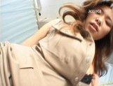 Yua Aida Hot Asian doll enjoys a hard fucking in lingerie