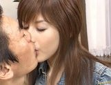 Hime Kamiya Asian teen in hard bukkake