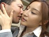 Senna Kurosaki Lovely Asian doll gives a hot blowjob